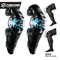 Motorcycle Knee Pads Cuirassier Motocross Kneepad Elbow Protector Guards MTB Protective Kneepad Moto Elbowpad Brace Support Gear