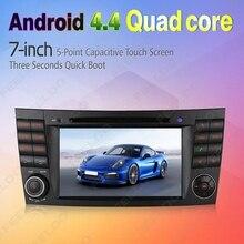 7″ inch Android 4.4.4 Quad Core Car DVD GPS Radio Head Unit For Mercedes Benz CLK W209(2005~2006) #FD-4620