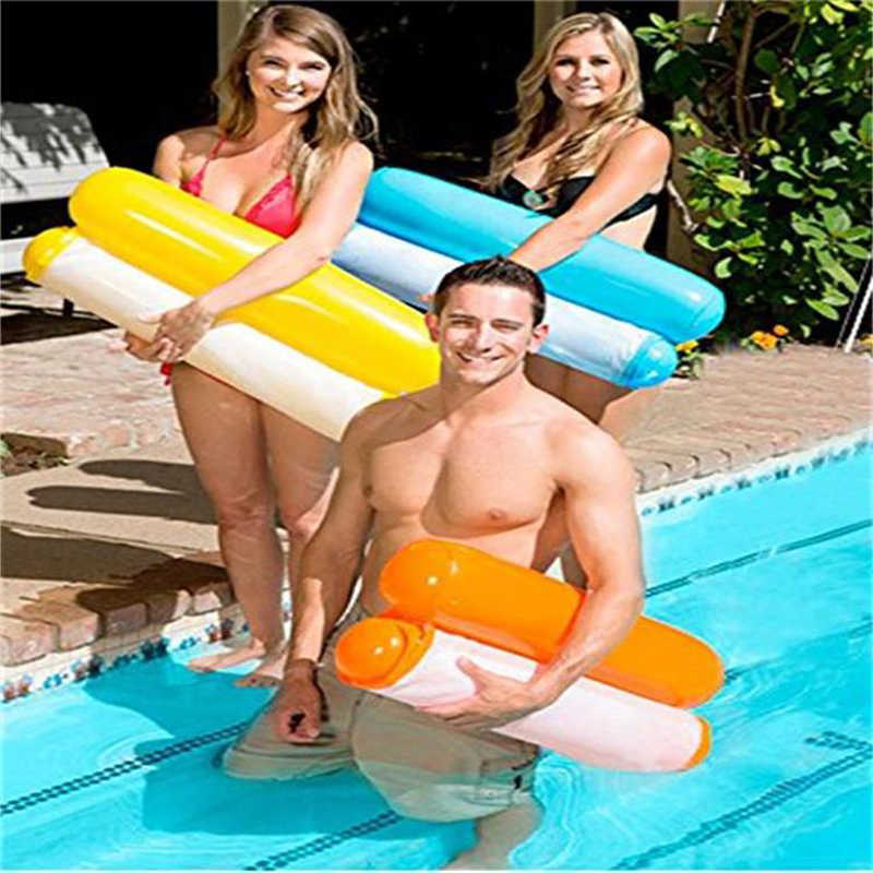 Yuyu New Inflatable Lounge Chair Pool Float Swimming Swim Ring Hammock 8 Color