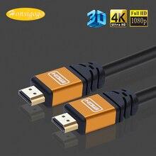 Honsigogo Oxygen-free Cobre Cabo HDMI 2.0 4 K 3D HDMI Macho para HDMI para TV LCD Projetor Portátil PS4 PC DVD 1.5/3/5/10/15/20 m