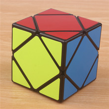 Original Skew Magic Speed Cube Square Professional sticker skewb Puzzle Cubo Magico learning education toys for