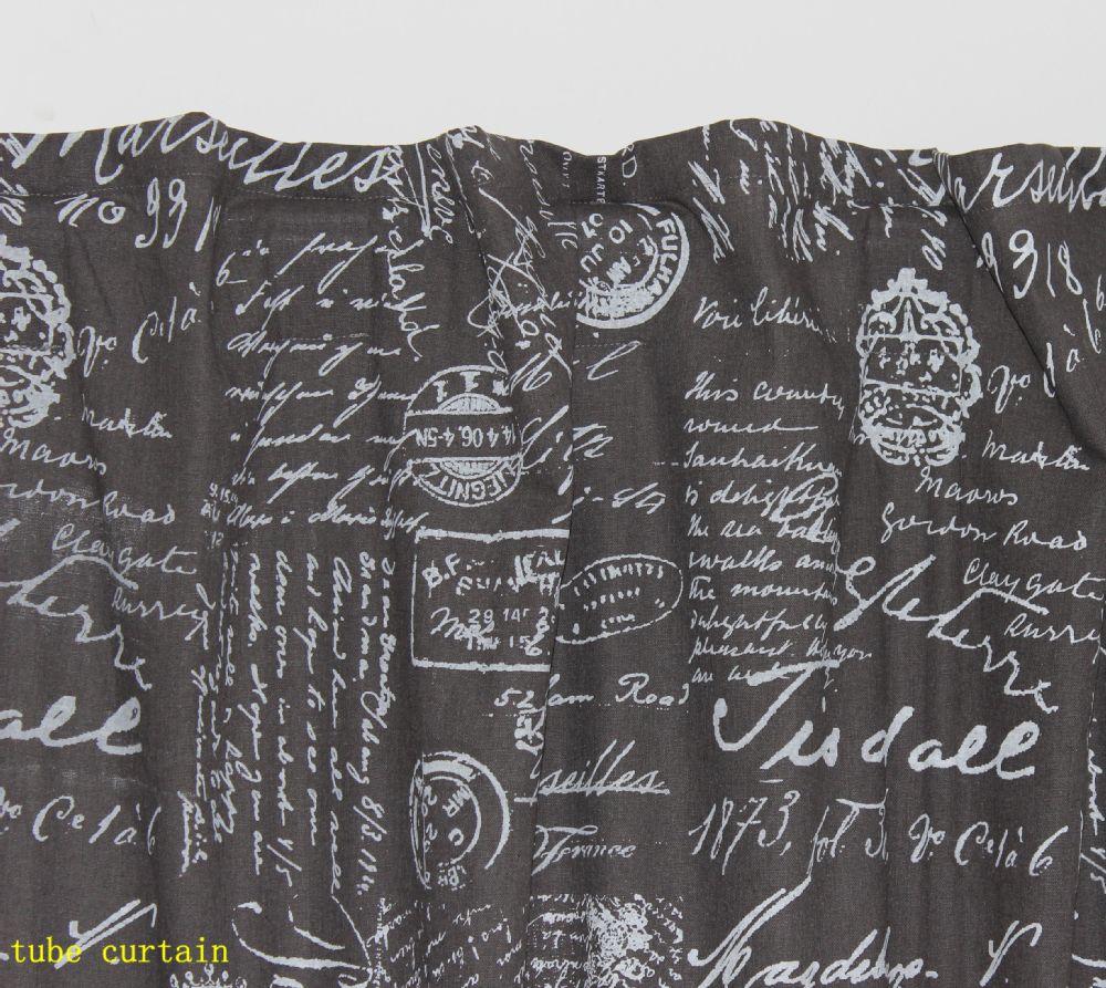 Aliexpress.com: koop vezo huis gordijnen gedrukt letters katoen ...