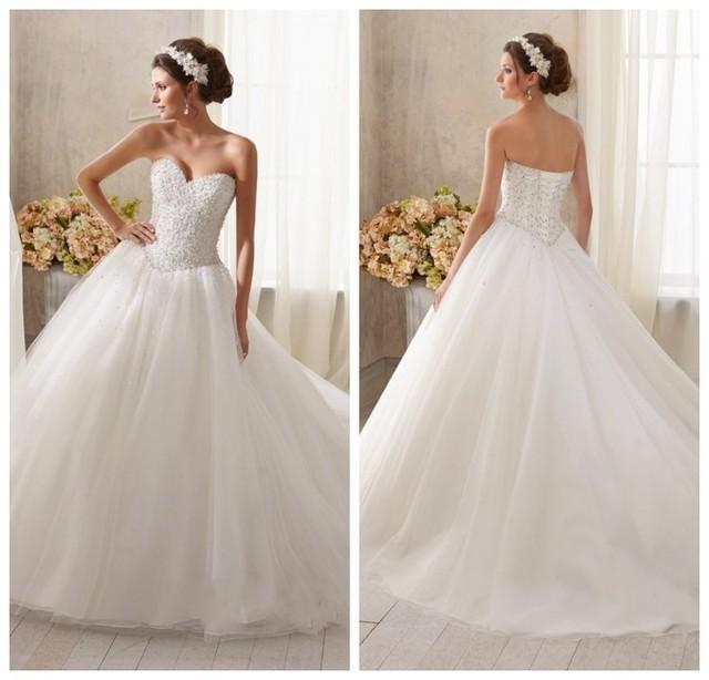 Wedding Dresses Sweetheart Neckline Princess - Unique Wedding Ideas