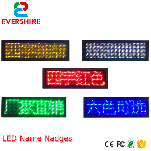 1144 dots six color led name badgesled name tag sign scrolling 1144 dots six color led name badgesled name tag sign scrolling text colourmoves