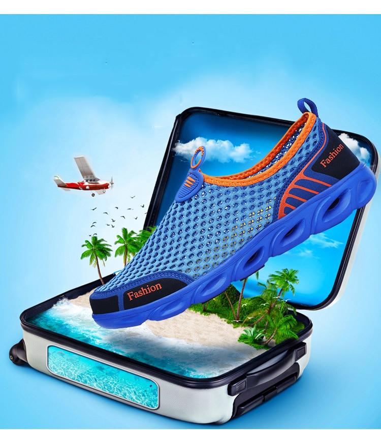 HTB10JwPNZfpK1RjSZFOq6y6nFXai Men Casual Shoes Sneakers Fashion Light Breathable Summer Sandals Outdoor Beach Vacation Mesh Shoes Zapatos De Hombre Men Shoes