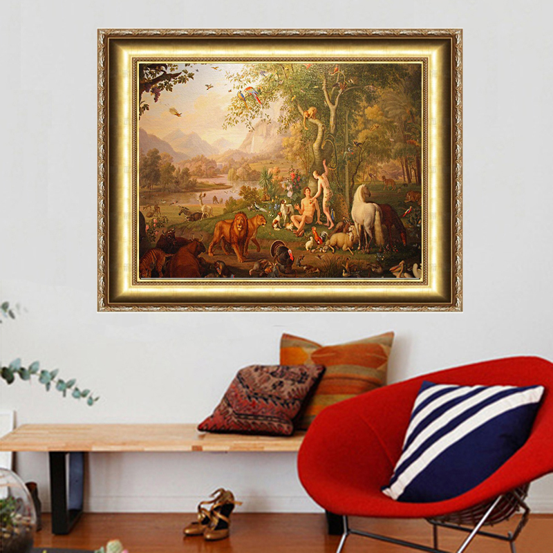 NEW DIY 3D Diamond Painting Hand Embroidery Cross Stitch Crystal Craft Creative Gift Nautical Decor Person Animal River Tree Zoo