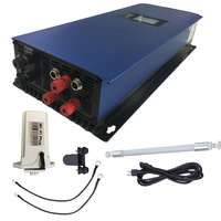 2000W Grid Tie Inverter MPPT Pure Sine Wave with Dump Load resistor,45 90V limit/wifi optional for 3phase AC Wind Turbines