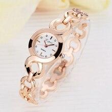 Lvpai бренд Модные часы-браслеты Женские легированные Роскошные Часы Кварцевые Наручные Часы Классический стиль Золотые Повседневные часы деловой стиль
