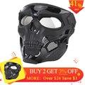 2019 WST Cranio Tattica di Caccia Maschera di Halloween Giochi di Partito Viso Maschera per VELOCE Outdoor Tiro di Combattimento Viso Maschera protettiva