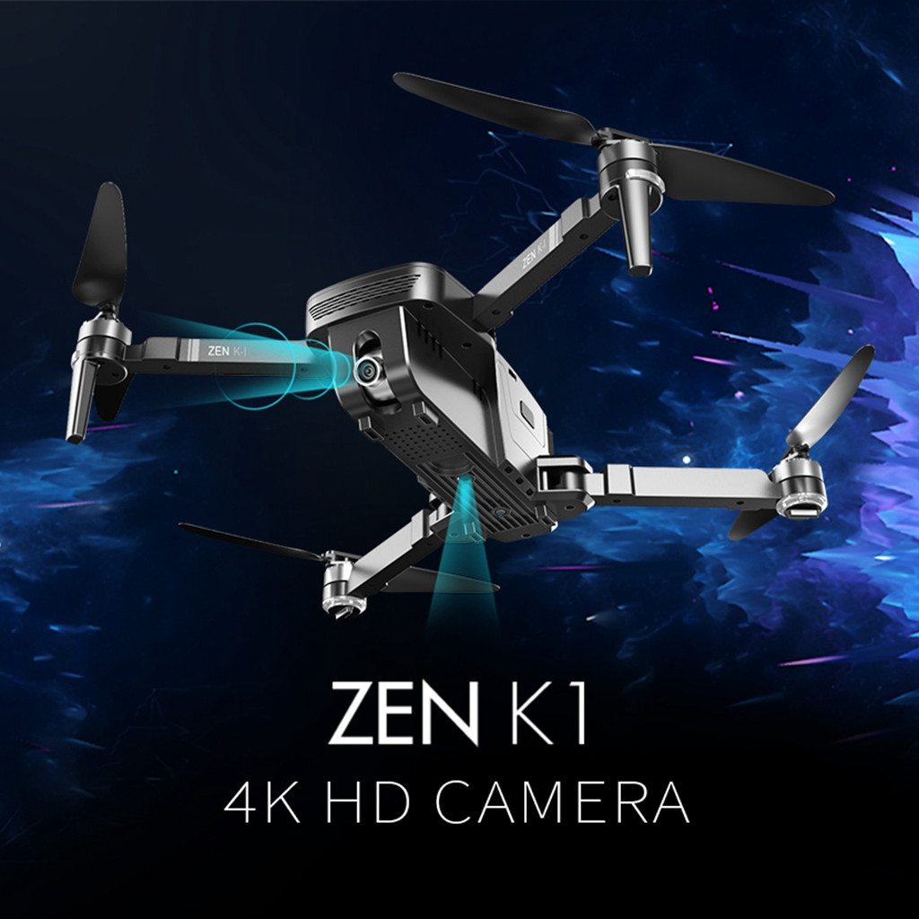 VISUO ZEN K1 GPS 5G Wifi FPV 4K 720P Dual Camera Brushless Collapsible RC Drone RTF Quadcopter Design