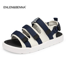 ed022ba9161dd Summer Beach Shoes Sandals 2017 Fashion Designer Men Sandals Casual Brand  Rome Style Slippers For Men