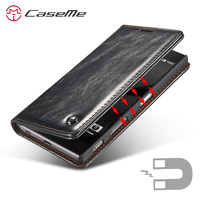 Luxury Phone Cases For Sony Xperia Z5 5 2inch Original Brand Genuine Leather Magnet Auto Flip