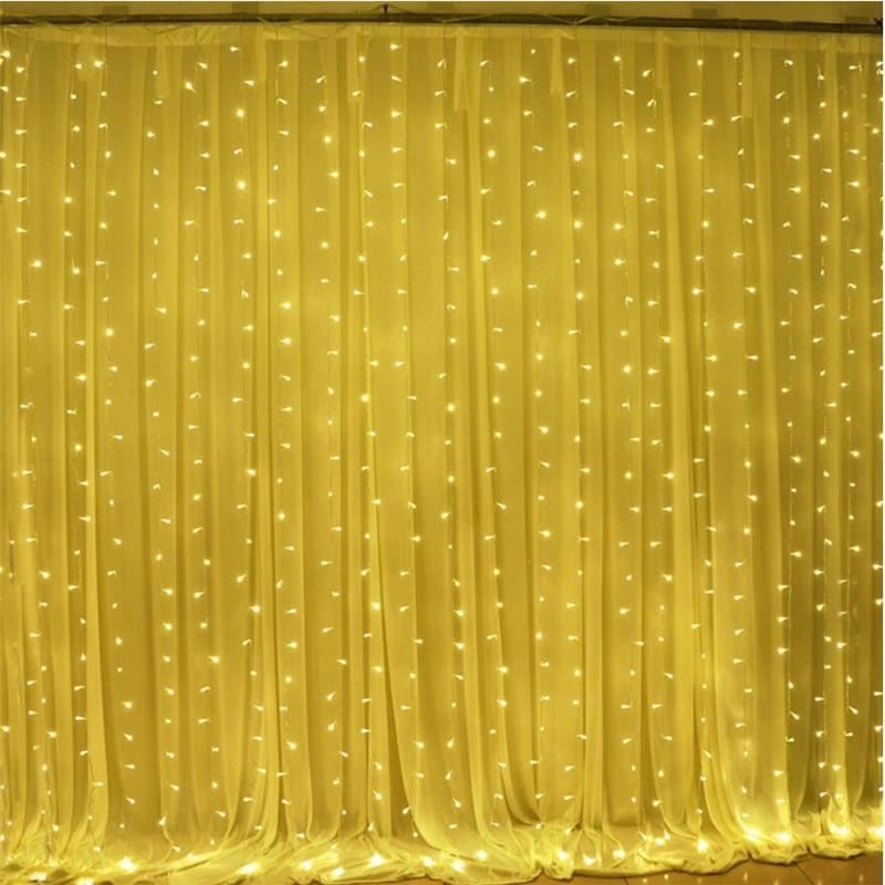 3M x 3M 300 LED Hauptaußenfeiertag Weihnachten dekorative - Partyartikel und Dekoration - Foto 4