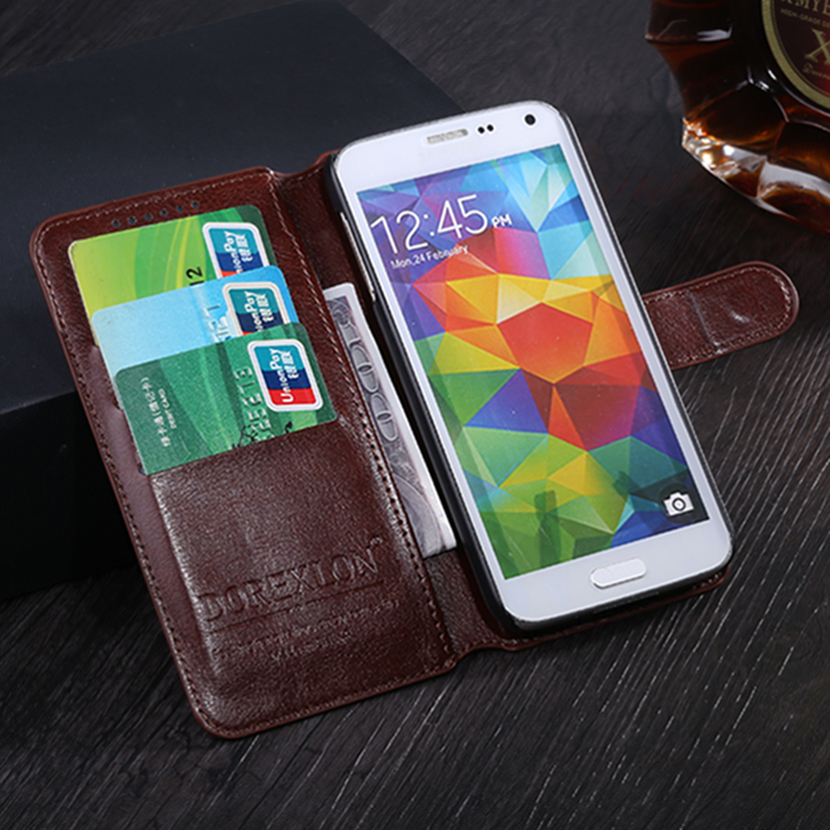 Case For Sony Xperia Z3 Plus PU Leather Case For Sony E6553 Luxury Flip Wallet Card Holder Cover For Xperia Z4