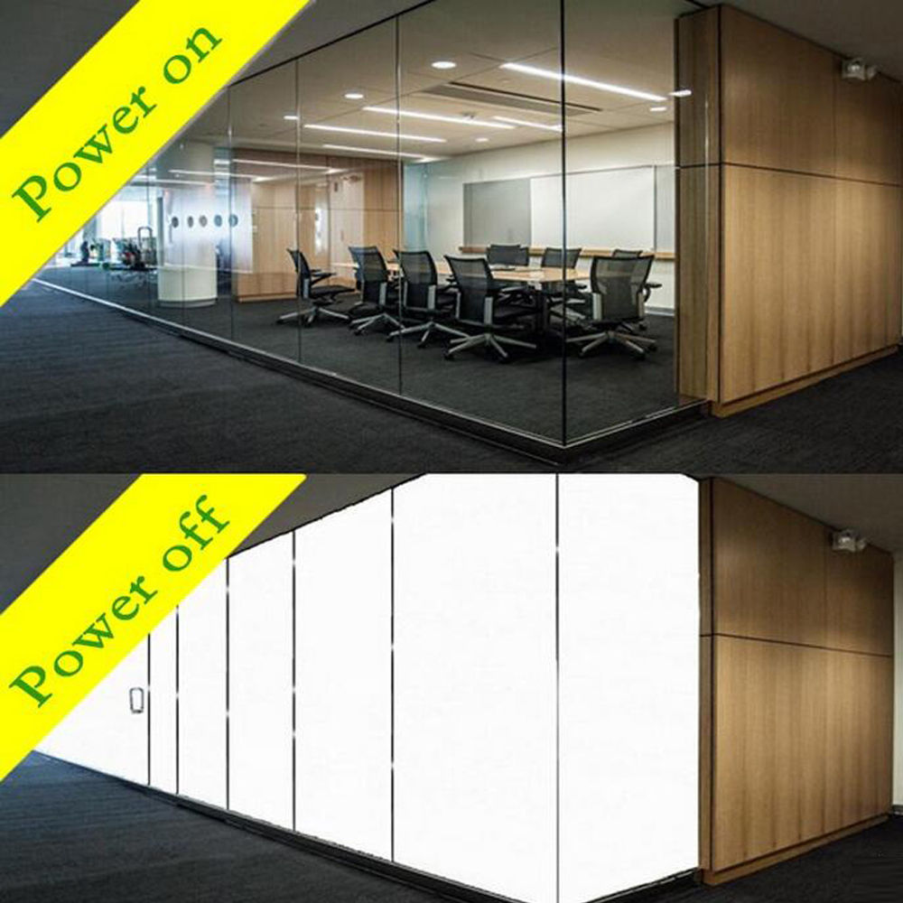 120x100cm PDLC White Smart Film Electrochromic Film Switchable Glass Vinyl +220v/110v power transformer 15x15cm smart pdlc smart window film power window electrochromic film switchable glass