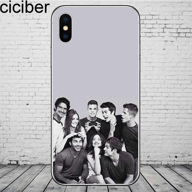Ciciber ティーン · ウルフのための iphone のため 11 プロマックス電話ケースカバー iphone 8 7 6 6S 5S 、 SE × 7 プラス 8 プラス 6 プラス Tpu Coque