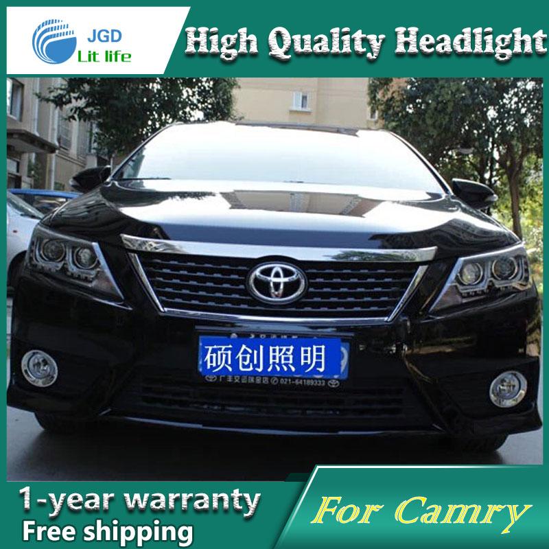 visokokvalitetni dizajn automobila za Toyota Camry 2012-2013 farovi - Svjetla automobila - Foto 3