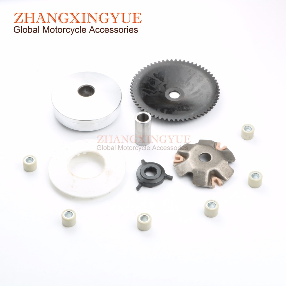 50cc Front Drive Variator Clutch Assembly for FIRST BIKE Atomic Champion Dynamic Express Galaxy Leader 50cc GY6 139QMB 4T