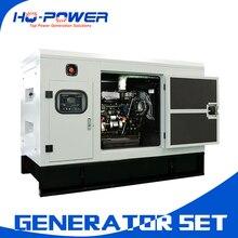 Домашнее использование Бесшумная Дизельная генераторная установка с водяным охлаждением 10 кВт генератор горячая распродажа