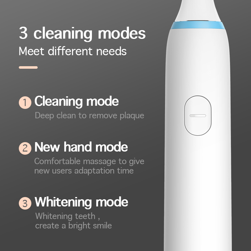 Image 2 - SOOCAS X1 Sonic Electric Toothbrush for Xiaomi Mijia Soocare Adult Ultrasonic Tooth Brush USB Rechargeable Toothbrush 3 Modes-in Electric Toothbrushes from Home Appliances