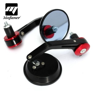 "1Pair Universal 7/8"" Round Bar End Rear Mirrors Moto Motorcycle Motorbike Scooters Rearview Mirror Side View Mirrors(China)"