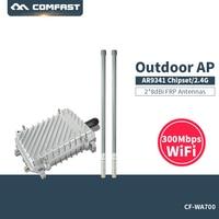 300 Мбит/с 2,4 г Long Range Открытый AP CPE маршрутизатор Wi Fi усилитель сигнала повторителя ATHEROS AR9341 Беспроводной точка доступа Поддержка poE