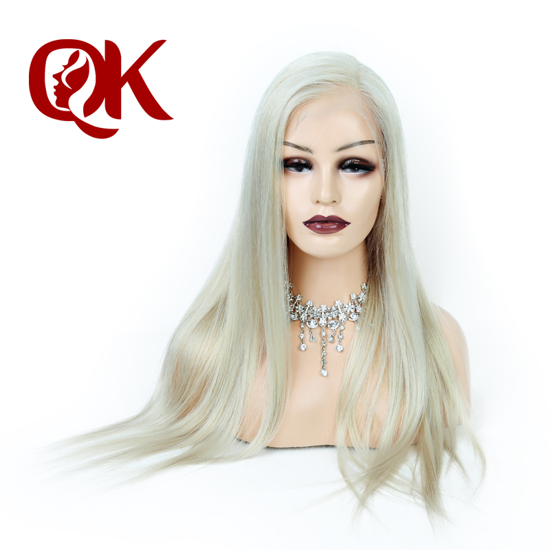 QueenKing Hair Virgin 613 Full Lace Wig image
