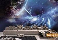 Custom 3d wallpaper mural star of outer space universe Starcraft tv sofa bedroom living room cafe bar restaurant background
