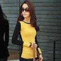 2016 shirt women camisas femenina korean fashion full patchwork clothing vetement femme summer tops roupas feminina blouses
