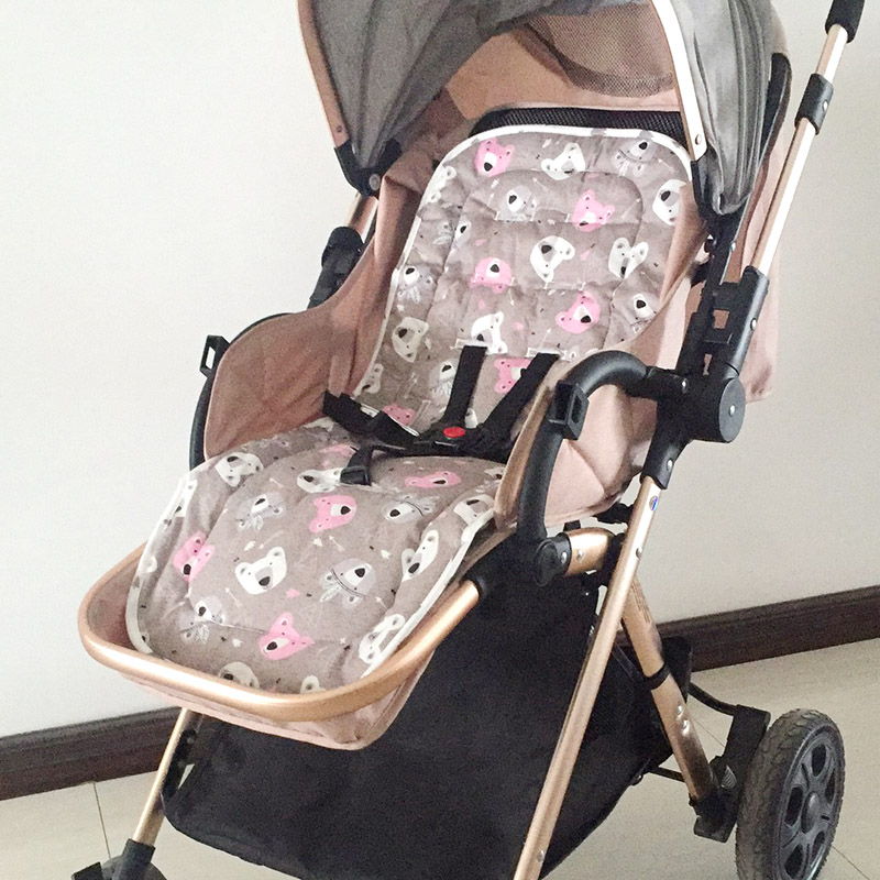 Bebé almohadilla de pañal cochecito de bebé accesorios de coches cochecito Buggy coche General cojín de coche bebé portadores de asiento para grueso mat
