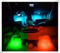 Color LED atmósfera luces de decoración interior del coche para Nissan tiida qashqai almera primera x-trail juke nota Sunny Marzo Murano