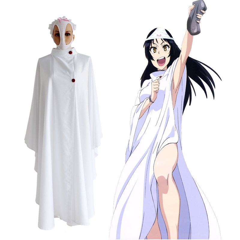 Anime Shimoneta a Boring World Where The Concept Of Dirty Jokes Doesn't Exist Cosplay Costumes Ayame Kajou Cosplay Cloak Game image