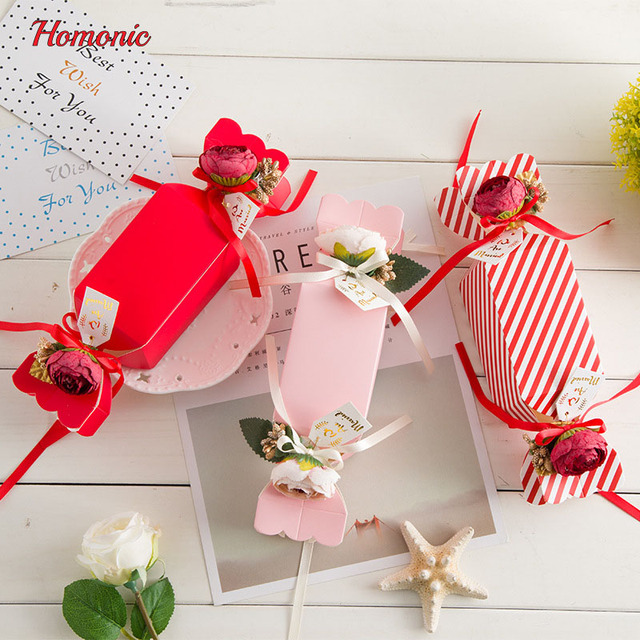 30pcs cute paper bags fishtail shape candy box pack dessert cookie bags wedding christmas gift decorations - Christmas Gift Decorations