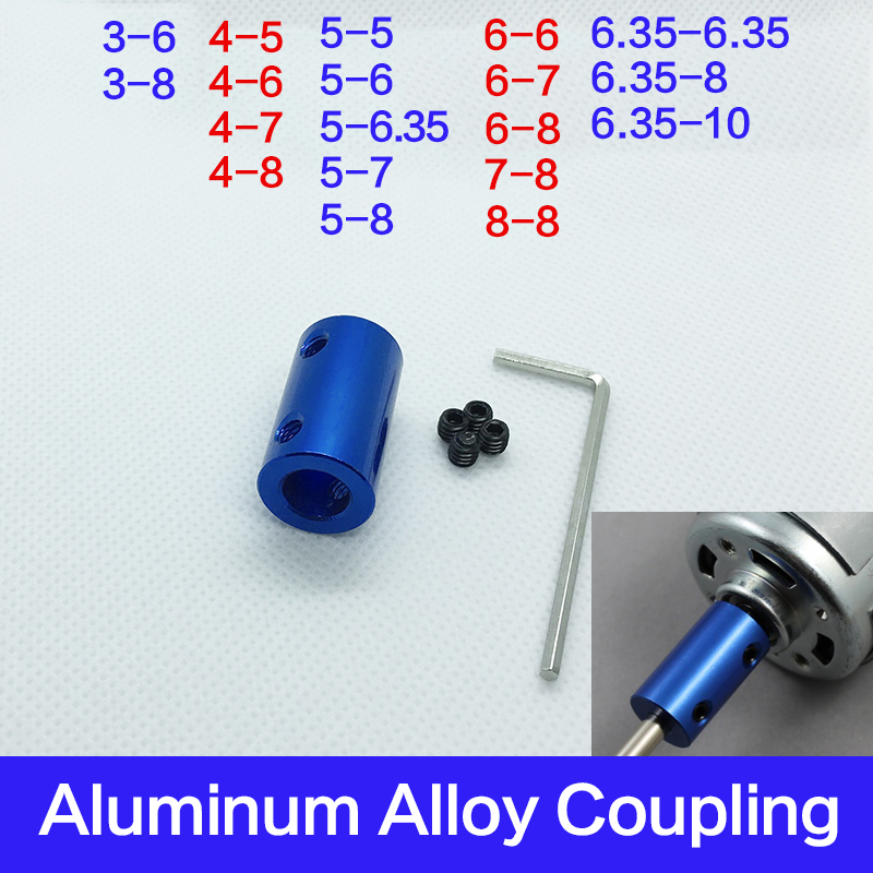 3/4/5/6/6.35/7/8/10mm Multiple models Coupling CNC Motor Jaw Shaft Coupler 5mm To 8mm Flexible Coupling  wholesale Dropshipping 3/4/5/6/6.35/7/8/10mm Multiple models Coupling CNC Motor Jaw Shaft Coupler 5mm To 8mm Flexible Coupling  wholesale Dropshipping