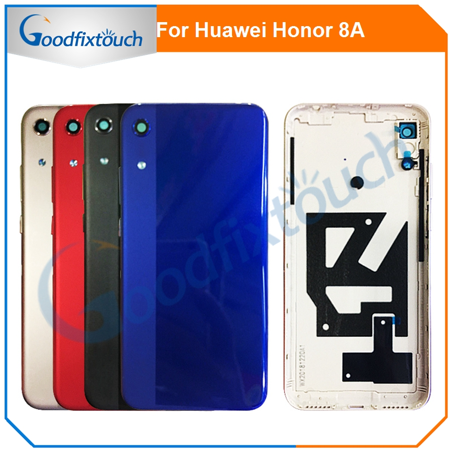 For Huawei Honor Play 8A Back Cover Battery Door Back Housing Rear Cover For Honor 8A Replacement Parts|Mobile Phone Housings & Frames| |  - title=