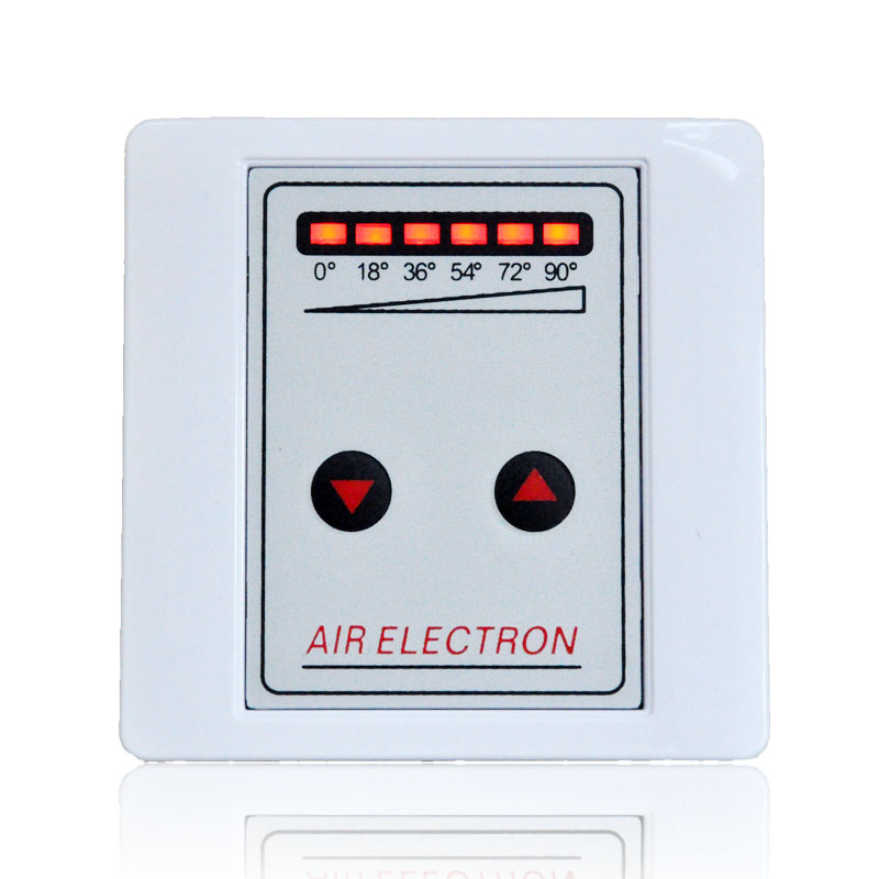 Intelligent Air Volume Regulating Air Valve Controller for Central Air Conditioning, Electric Angle Valve and Angle Switch 220v dirve actuator electric two way regulating valve proportional integral valve for central air conditioning
