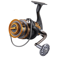 2017 NEW Design Aluminum Spool Spinning Reel 4000-7000 Series 13+1BB Ball Bearings Long Distance Surfcasting Reel Fishing Reel
