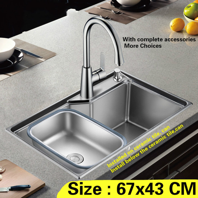 Free shipping Household mini standard Kitchen sink Small durable ...