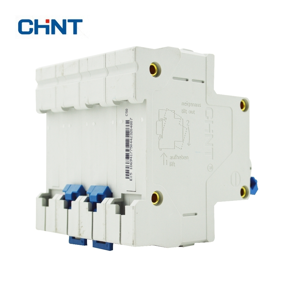 Buy Chint Miniature Circuit Breaker 50a Air Switch Mini Voltage Protective Device Dz47 60 4p C50 From Reliable