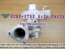 Turbo TD04 49177-01504 MR355222 Turbine Turbocharger For Mitsubishi Pajero II L200 L300 Shogun 4D56 PB 4D56PB DOM 4D56T 2.5L D