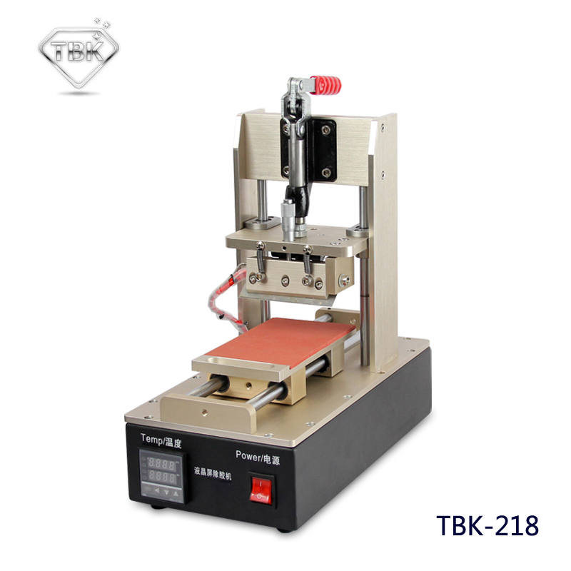 цена на TBK-218 NEW LOCA UV Glue Adhesive Polarizing Film Remove Machine LCD Touch Screen Degumming Machine Remover