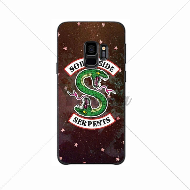 Yinuoda American Hot TV Riverdale Lovely Design Phone Accessories Case For GALAXY  s10 s6 edge  s7 edge s8 plus s9 plus