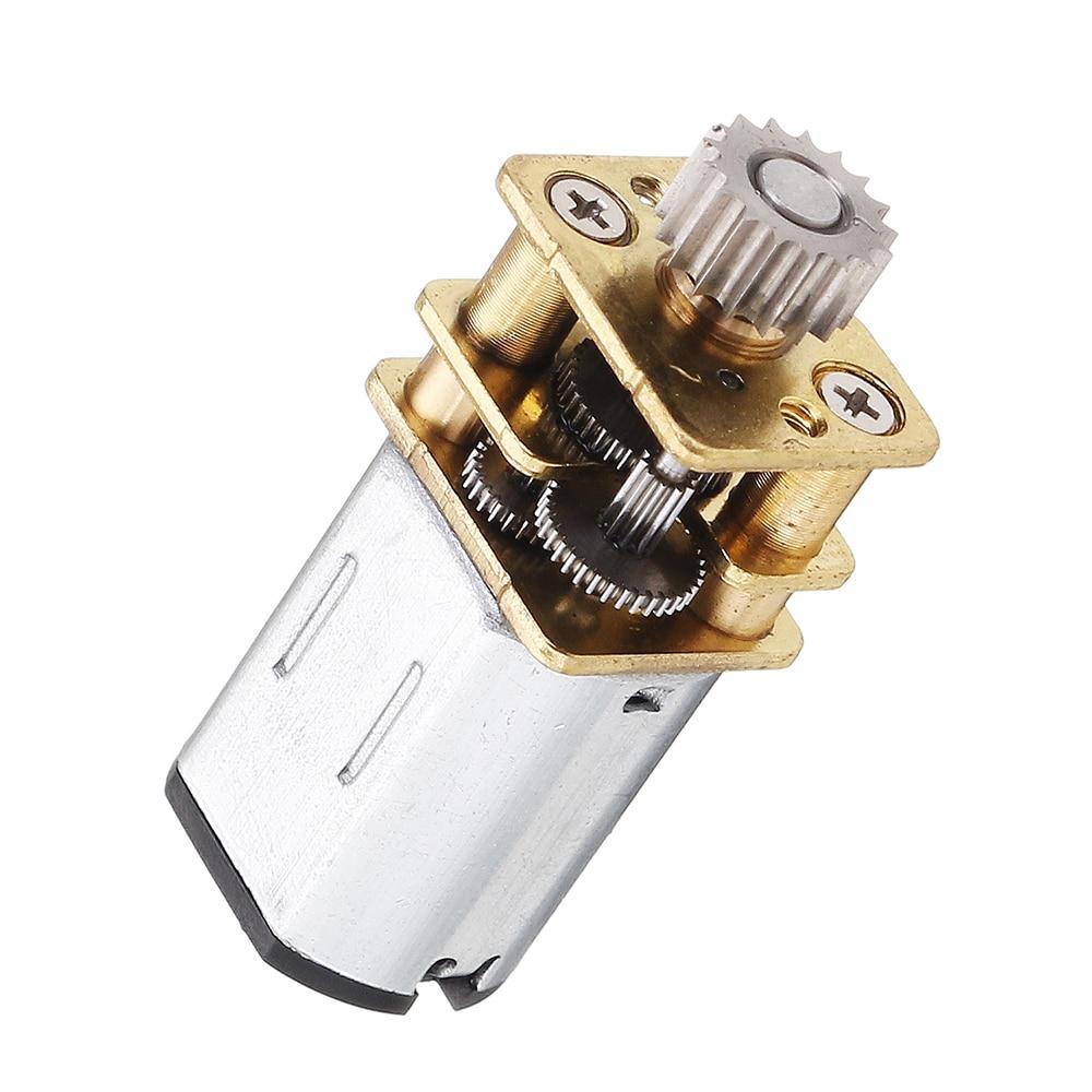 Mini Metal Sealed 298:1 Geared Motor
