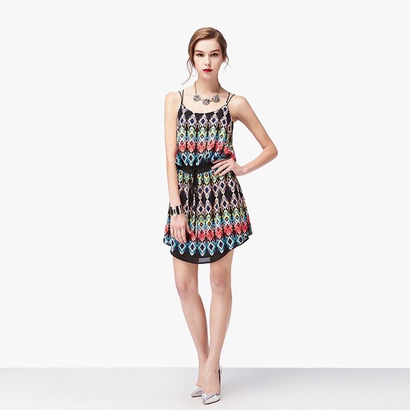 508375319812 NUDO ZEBRA 2016 estate cinghia di spaghetti della stampa abito corto  spiaggia prendisole sexy vestidos casuali in NUDO ZEBRA 2016 estate cinghia  di ...