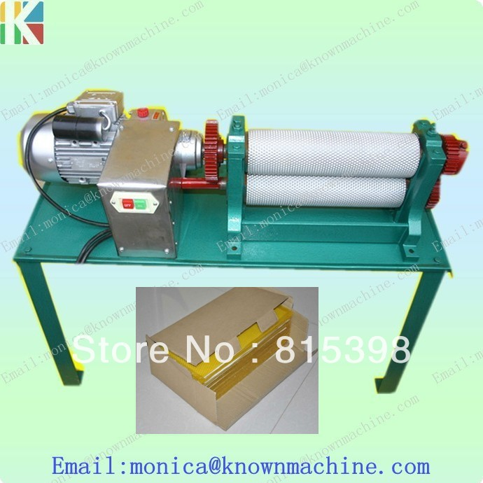 86 250mm beeswax comb foundation machine