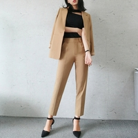 Office Suits For Women 2017 Spring Pant Suits Women Trouser Suit Pantsuit With Jacket Business Suit Formal Fashion J17CT0020