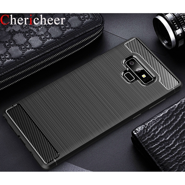 newest 537a9 33965 US $3.36 |Case For Samsung Note 9 Case Note 9 Luxury Silicone Carbon Fiber  Cover For Samsung Galaxy Note 9 Case For Samsung Note 9 Cover-in Fitted ...