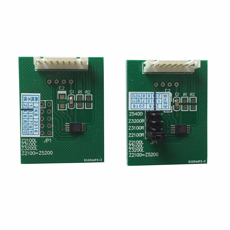 Chip Decoder For HP Z2100 Z3100 Z3200 Z5200 Z5400 Decoder Board 1set/2pcs chip decoder board for hpdesignjet z2100 z3100 z3200 z5200 z5400 chip resetter decryption card