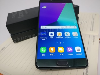 new Original Samsung Galaxy C9 Pro C9000 6GB RAM 64GB ROM LTE Octa core   16MP Camera 6''inch 4000mAh Battery Cell Phone 2
