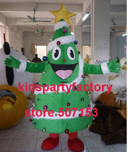 summer hot sale New Adult size christmas tree mascot costume with suits font b shoes b